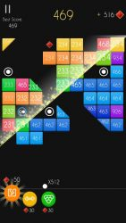 screenshot of balls.arcademaker.bricks.breaker.brounce.ballz.puzzle