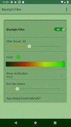 screenshot of com.androidrocker.bluelightfilter
