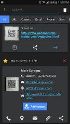 screenshot of com.duyp.vision.qrcode.reader