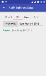 screenshot of com.everydaycalculation.agecalculator