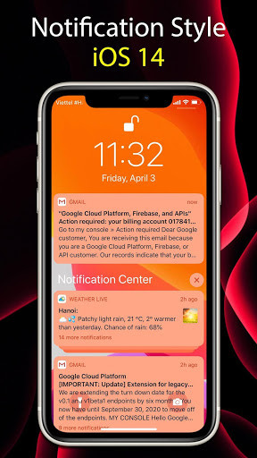 Launcher iOS 14 6.1.4 APK Download for Android