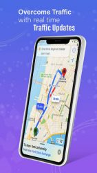 screenshot of com.maps.voice.navigation.traffic.gps.location.route.driving.directions