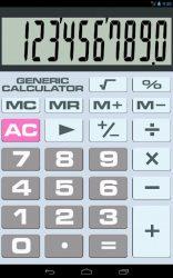 screenshot of com.merowoo.genericcalculator