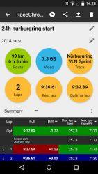 screenshot of com.racechrono.app