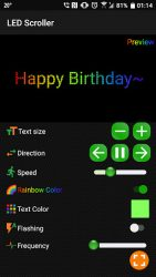 screenshot of com.studio.design.helper.digital.ledscroller