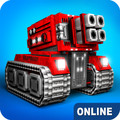 Blocky Cars - tank wars, online games 7.4.6