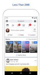 screenshot of com.facebook.lite
