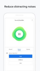 screenshot of com.google.android.accessibility.soundamplifier