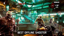 screenshot of com.madfingergames.deadtrigger