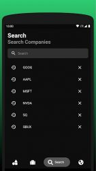 screenshot of com.stonks.watchlist
