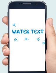 screenshot of com.text.metal.effect