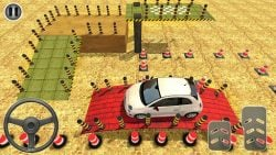 screenshot of com.volcano.modrn.car.parking.d