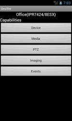 screenshot of net.biyee.onvifer