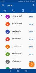 screenshot of net.link3.dial