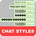 Chat Styles: Cool Font & Stylish Text for WhatsApp 6.8