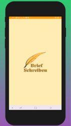screenshot of brief.schreiben