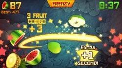 screenshot of com.halfbrick.fruitninjafree