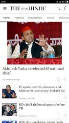 screenshot of com.mobstac.thehindu