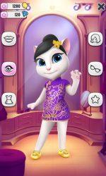 screenshot of com.outfit7.mytalkingangelafree