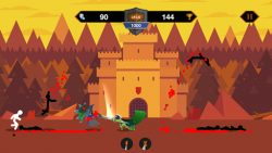 screenshot of com.stickman.war.dragon.warriors.stick.fight