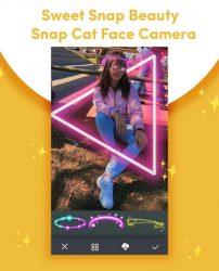 screenshot of com.sweetsnap.beauty.snapcat