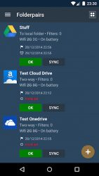screenshot of dk.tacit.android.foldersync.lite