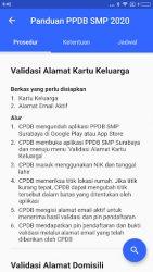 screenshot of id.go.surabaya.ppdb.smp