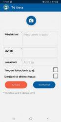 screenshot of org.nativescript.raportopolicin