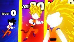 screenshot of stickman.legends.revenge.saiyan.fighter