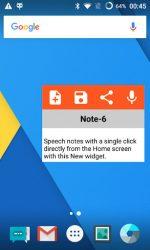 screenshot of co.speechnotes.speechnotes