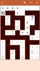 screenshot of com.conceptispuzzles.nurikabe