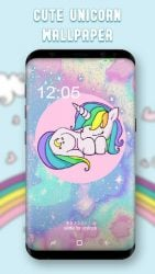 screenshot of com.cuteunicornwallpaper.hdwallpaper.cute.unicorn.app238927