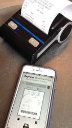 screenshot of com.expressexpense.bluetooth.print