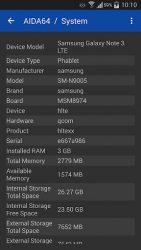 screenshot of com.finalwire.aida64