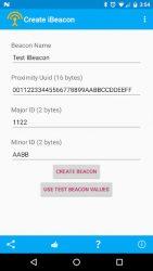 screenshot of com.fruitmobile.app.vbeacon.trial