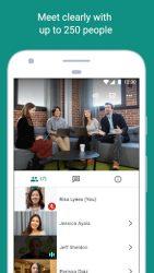 screenshot of com.google.android.apps.meetings