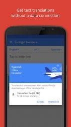 screenshot of com.google.android.apps.translate
