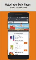 screenshot of com.groseva.customerapp