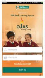 screenshot of com.idbi.ojas