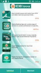 screenshot of com.idbibank.idbi_app_kart