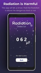 screenshot of com.la.smart.radiation.detctor.free