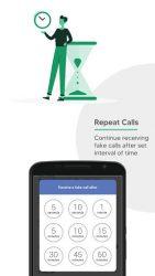 screenshot of com.malam.fake.incoming.call