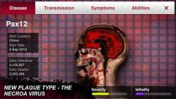 screenshot of com.miniclip.plagueinc