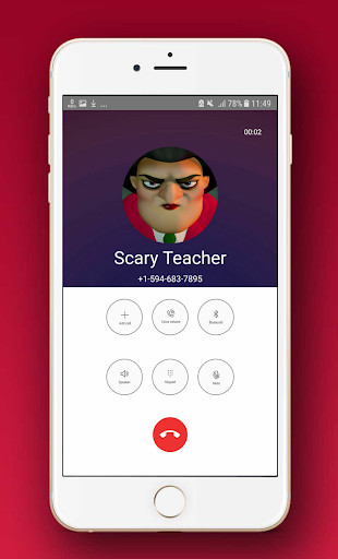 Scary Techer Call You Fake Video Call Prank 3 2 1 Apk Download For Android