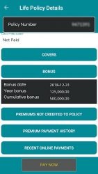 screenshot of com.slic.customer