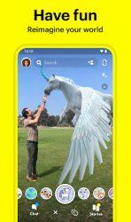screenshot of com.snapchat.android