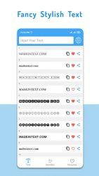 screenshot of com.stylishtext.generator