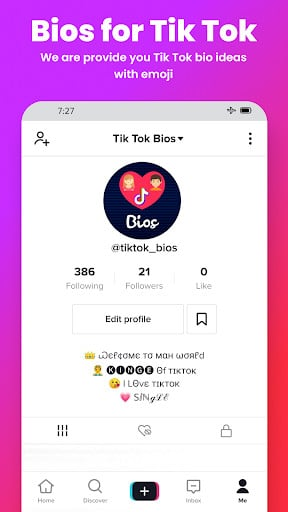 Bios Ideas For Tik Tok Video 1 6 Apk Download For Android