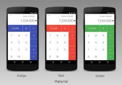 screenshot of com.tricolorcat.calculator