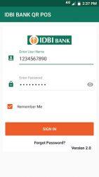 screenshot of com.worldlineindia.idbi.merchant